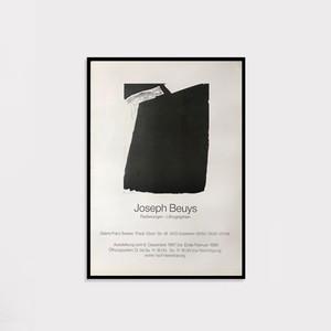 【額装済】Joseph Beuys 1987 Poster