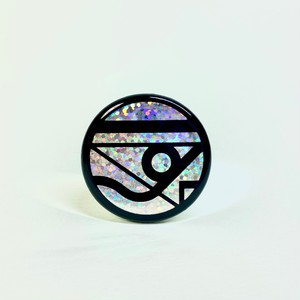 [Button Badge] Nyankee, the Beach / Origina Logo Badge