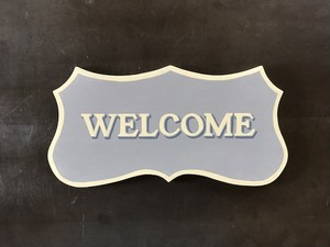 "Signpaint ""Welcome"""