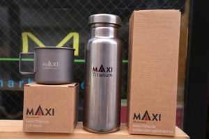 MAXI TITANIUM BOTTLE / CUP SET