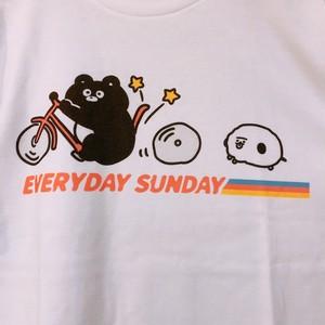自転車ぶっこわれたTシャツ&マグネットSET