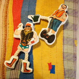 Dog Toy Crazy Rope Toy レスラー/警備員