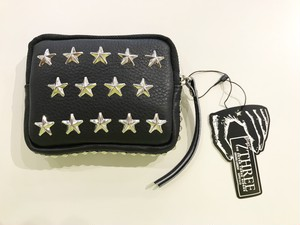 7THREE  STARS AND STRIPES COIN CASE [SILVER]
