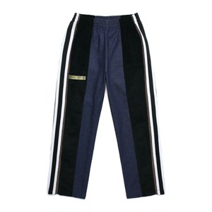 CZ WIDE ZIP PANTS / NAVY