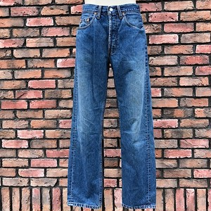 1990s U.K. Levi's Jeans #518 W34 L34 Made In England