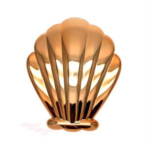 Shell Brush - Gold