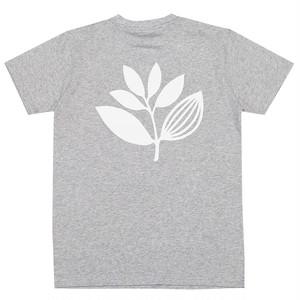 MAGENTA PLANT TEE M HEATHER GREY マゼンタ Tシャツ
