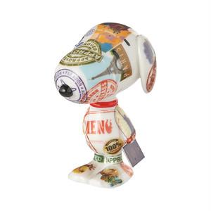 スヌーピー Snoopy パスポートドッグ フィギュア Department 56 peanuts snoopy passport pooch 置き物 置物 PEANUTS ピーナッツ インテリア アメリカ