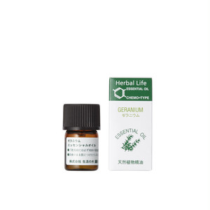 [女性に嬉しい香り]ゼラニウム精油 3ml