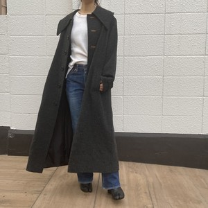 《OBSCURE DESIRE OF BOURGEOISIE》design coat チャコールグレー デザイン コート