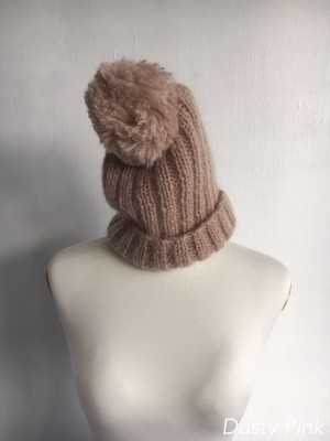 Bilitis dix-sept ans (ビリティス・ディセッタン)    Hand Knit Mohair Hat 1