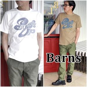 半袖Tシャツ tシャツ バーンズ BARNS デザインTシャツ 顔料染め ピグメント BR7547 アメカジ サーフ