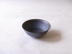 清水焼 南蛮三島詰 平茶碗(抹茶碗)