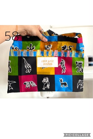 African Chitenge Collection Musette 58