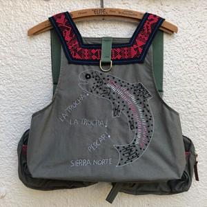 OAXACA Sierra Norte `Trucha` Fishing Vest
