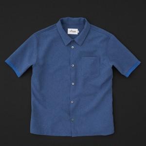 スタンダードシャツ(半袖) ブルー