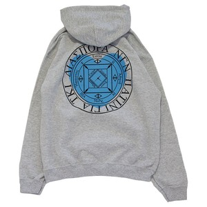 Heart Magic Circle Hooded Sweat (Ash)