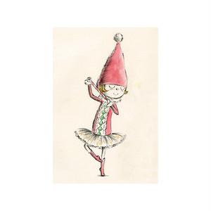 バレエポストカード・Dancing Fairy 葦笛