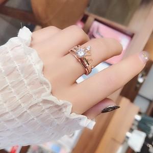 【ファッション小物】スウィート学園風ラインストーンリング