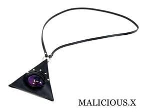 reptelis(A)eye triangle coin case / violet