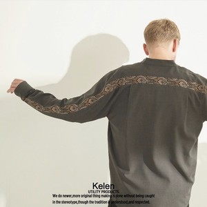 Kelen / ケレン | BACK LINE SHIRTS / バンドカラーシャツ