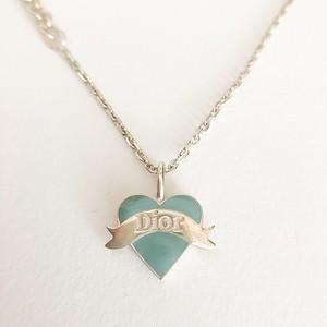 """Dior"" 925 silver blue heart bracelet[h-96]"