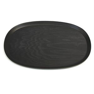 ブナ木製トレイ/オーバル・大