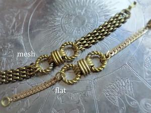 リングノットブレスレット vintage chain knot bracelet <BL7-1219>