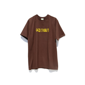 Maskita Laba coffee & cigarettes band TシャツBROWN