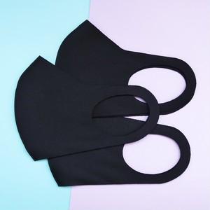 即納 SELECT Polyurethane seamless MASK 3pieceSET(ポリウレタン シームレス マスク 3点セット)ブラック