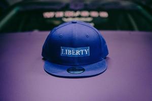 LIBERTY CAP NEWERA 限定ブルー×ライトブルー
