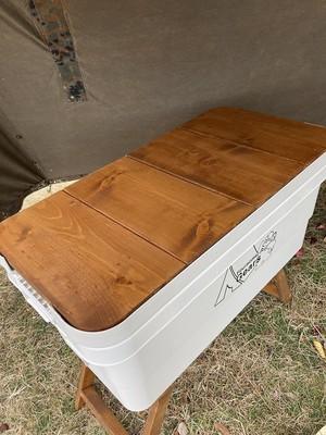 トランクカーゴ 4枚板用 無印頑丈収納ボックス専用オリジナル天板 特大サイズ・70L/小サイズ・30L兼用  ftcamp25