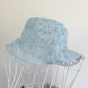 flower race hat(Blue)