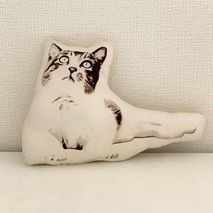 【ののちゃん/ドット】猫ピロー