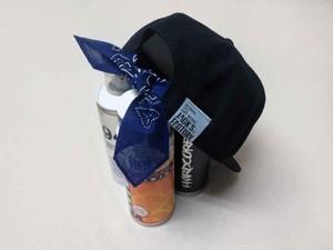 SNAP BACK CAP>バンダナカスタム(紺)