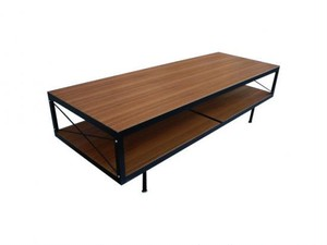 TV Stand/Coffee Table 1200 -Teak & Walnut Top-