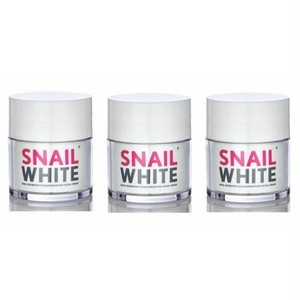 かたつむり ホワイト フェイシャルクリーム / SNAIL WHITE Facial Cream 50g×3個