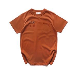 U.S.N print T-Shirt