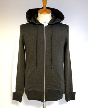 Stretch Jersey Truck Hooded BLZ GRAY