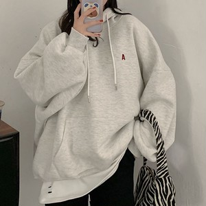 One point logo oversize hoodie LD0212