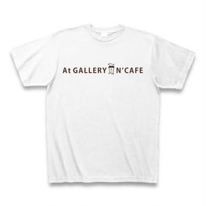 At GALLERY N'CAFE オリジナルTシャツ(白)