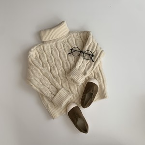 605. turtleneck knit