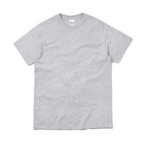 オーバーサイズ クルーネック Tシャツ (半袖) グレー