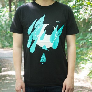 木を隠した森の中で ツアーTシャツ