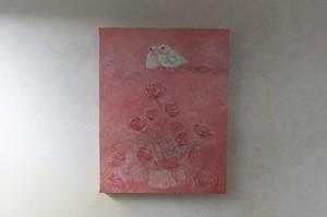 【絵画 油彩】『愛の夢』 F6号 購入後すぐに飾れる