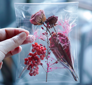 special dried & preserved flower pac 【RED】