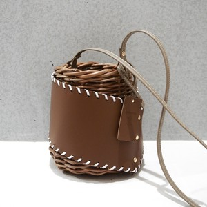 Protect stitch Basket  #Brown