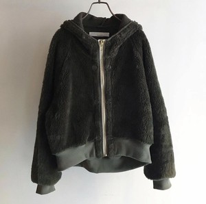 CaNARi original Remake French military boa hoodie