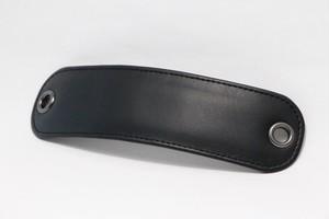 ショルダーパッド (黒)ミニショルダーバッグ用 肩パッド