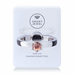 Smart Jewel-Lady Crown‐White Pearl-10月‐17SJ8-1-WPLLPC